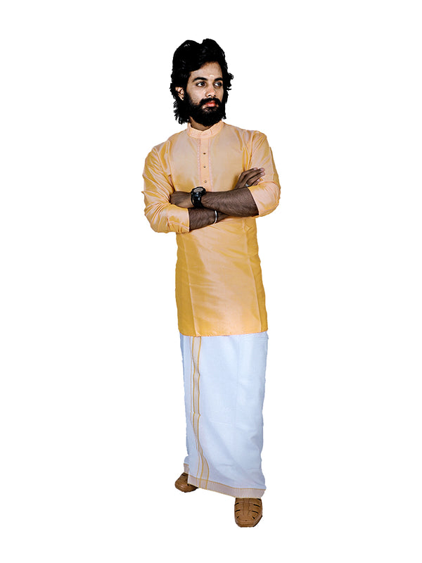 White Dhoti PD031
