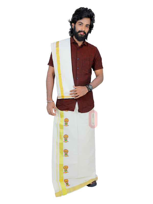 Off-white Dhoti PD095