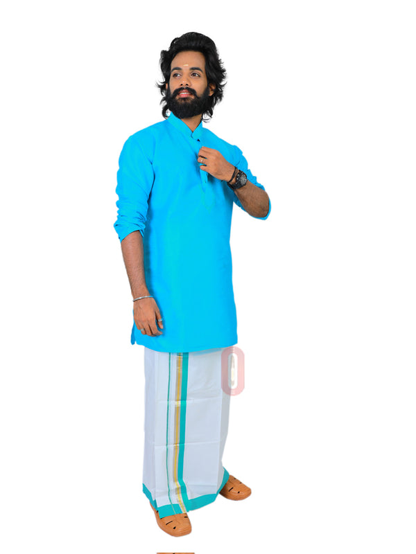 White Dhoti-PD421