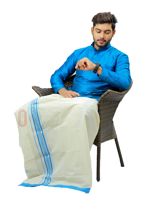 White Dhoti-PD433
