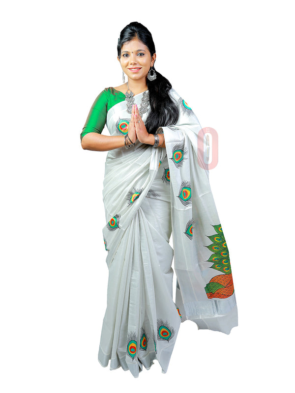 Kerala Saree PS497