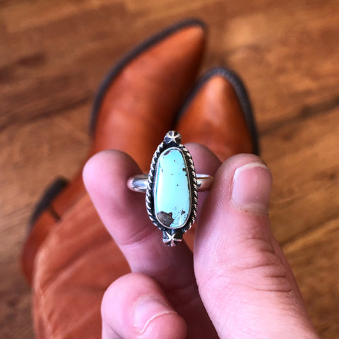 Southwestern-inspired Turquoise Ring