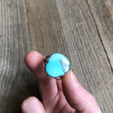 Whitewater Turquoise Ring size 7.75-8