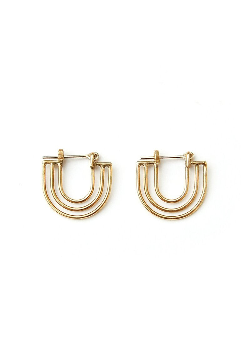 Dimi Earrings // 14K Gold Vermeil