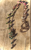 Tourmaline Rainbow Charm Necklace