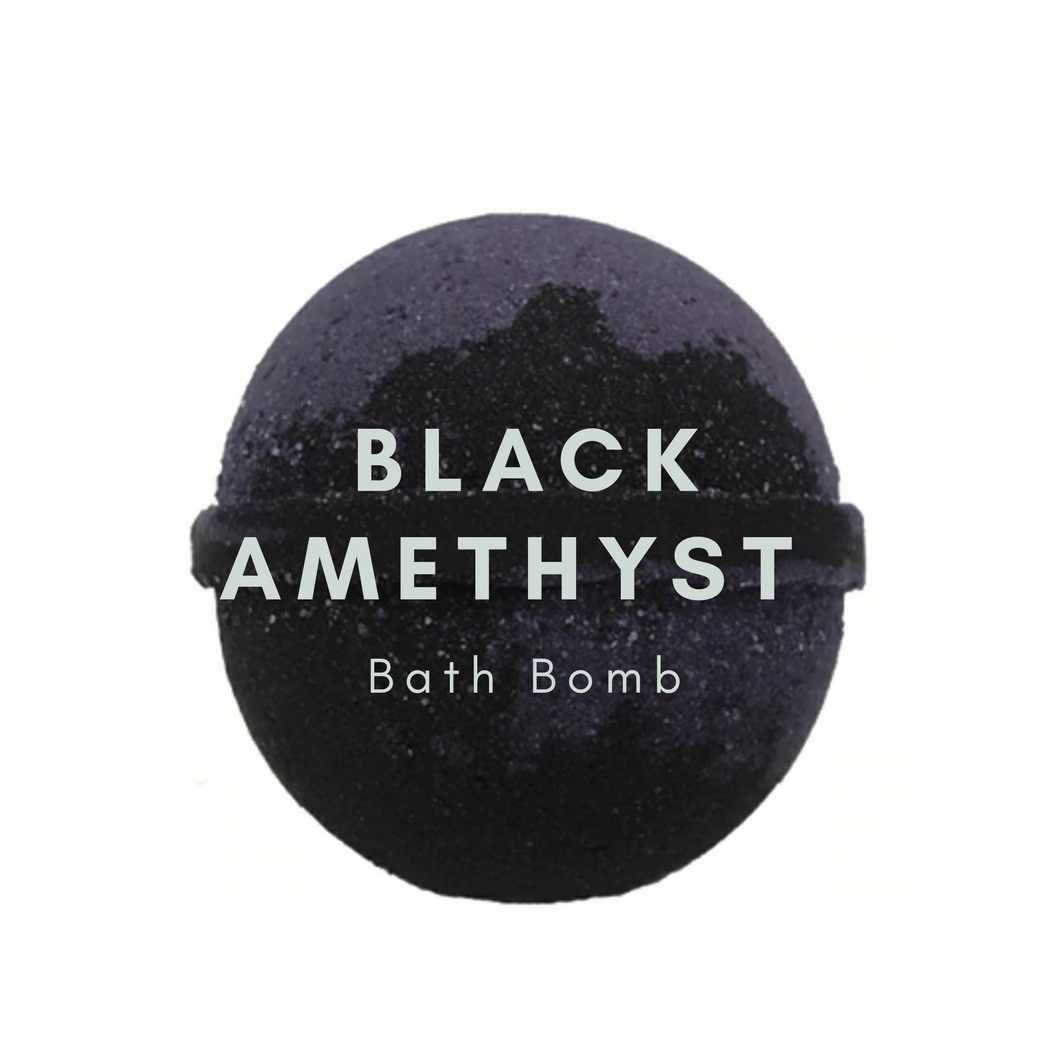 Black Amethyst Bath Bomb