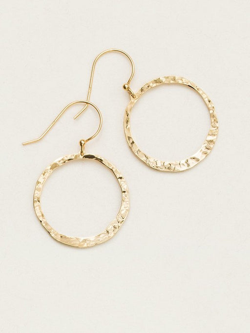 Make a statement that moves with you when you wear our Connie Hoop Earrings. This classic silhouette of hammered hoops is a jewelry box staple that's always in style.