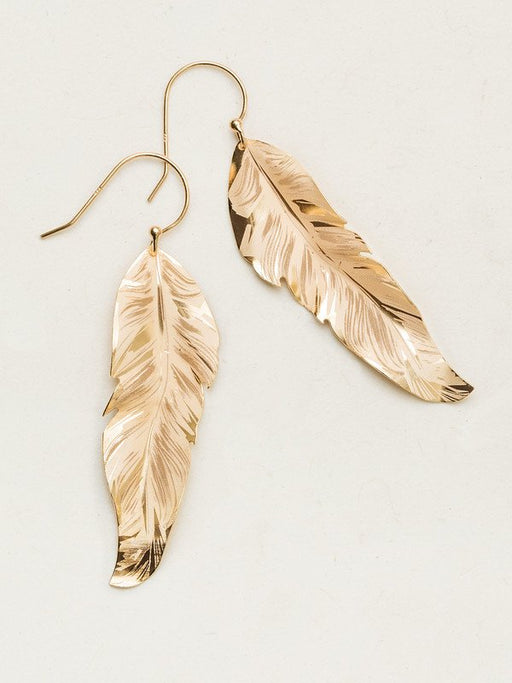 Jewelry design soars to new heights in our Free Spirit Feather Earrings. Never before have we created such true-to-life detailing, emulating the wisps and curves of a fluttering feather. Elegance and grace combine with a touch of Bohemian flair for a breezy look that glides effortlessly from day to night.