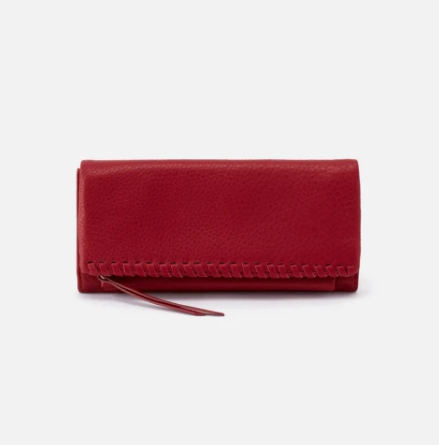 Our bi-fold wallet, Wade, features a sleek look with beautiful whipstitch detail. Plus it's big enough to hold a smartphone, making this a perfect grab & go clutch when you need it. Crafted in our signature velvet hide, our softest and most casual leather that only gets more beautiful over time.