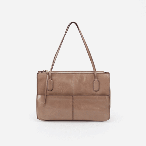 A mid-size shoulder bag with top handles, the Friar purse is made to last in Italian leather that gets better with use and wear. Crafted in our signature vintage hide leather that only gets more beautiful over time with use and wear.