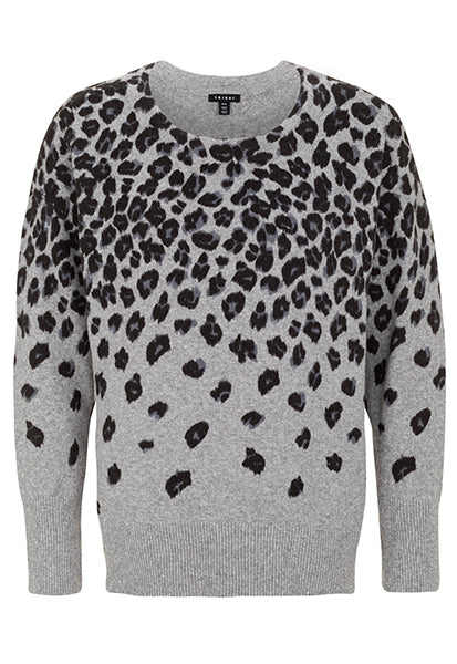 Tribal Animal Print Sweater. This fierce feline print sweater keeps the cold at bay on those chilly days. Inject an element of fun into your off-duty sweater selection in this bold animal print sweater that's as eye-catching as it is cozy.