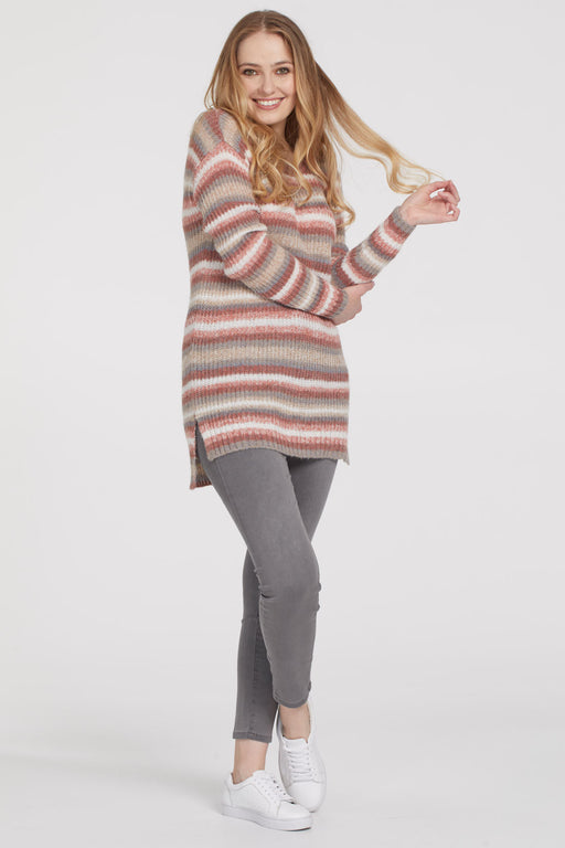Tribal Crew Neck Sweater
