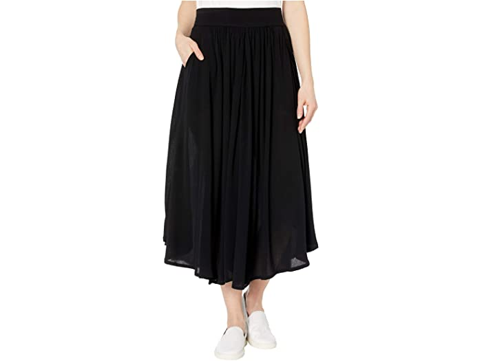 The TRIBAL® Long Circular Skirt with Pockets will complete your effortlessly chic look with a maxi-length silhouette, side hand pockets, and elasticized waistline. Pull-on skirt is featured on a rayon fabrication. Curved hemline. 100% rayon. Machine wash cold, line dry.