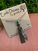 Earth Dreams Feather Necklace