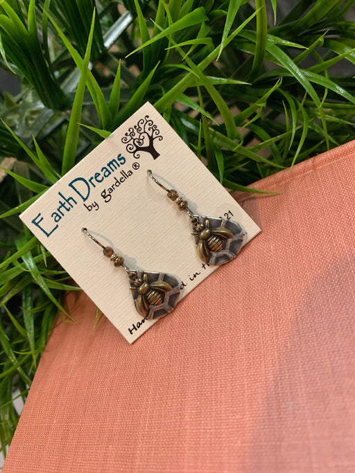 Earth Dreams Bee Earrings