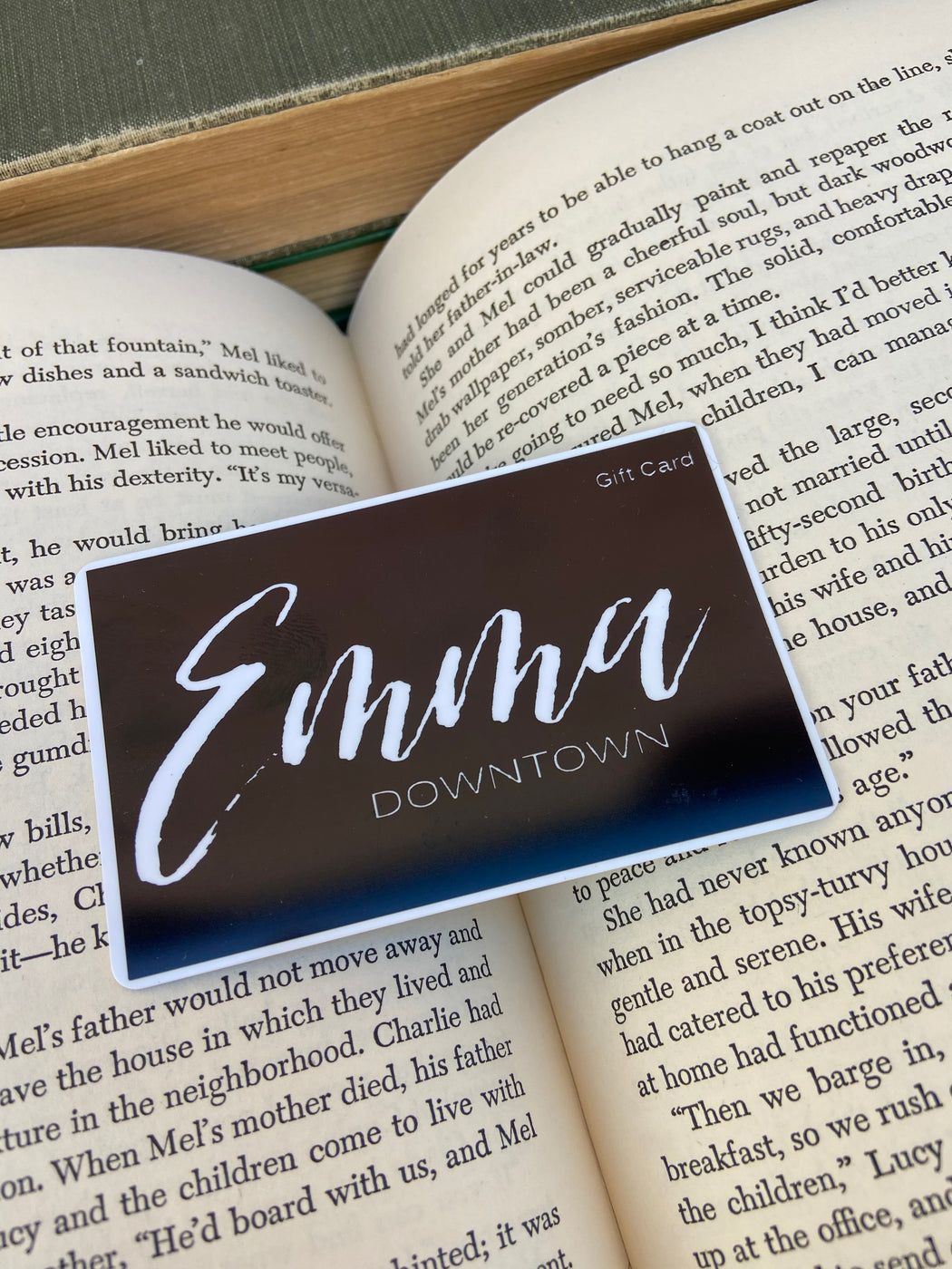 Give the perfect gift...and Emma Downtown gift card to be used in our store!