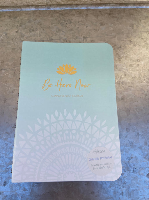 "This journal, by Lady Jane, is filled with prompts and exercises to encourage deeper introspection on how to live a more mindful and fulfilling life. Spiral Bound 8.5"" x 6.25"""