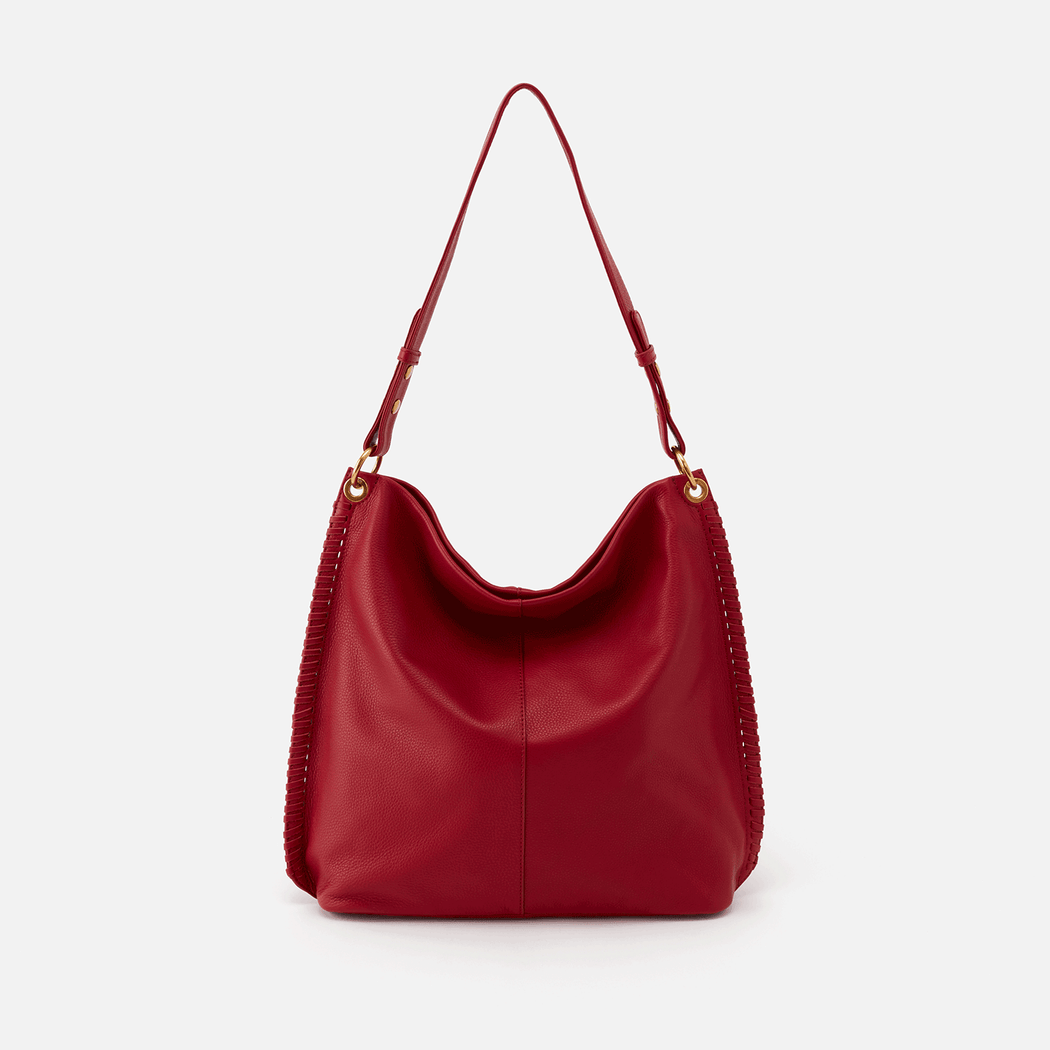Meet Moondance. A new slouchy HOBO made in our softest leather with whipstitch embroidery for a handcrafted look & feel. Crafted in our signature velvet hide, our softest and most casual leather that only gets more beautiful over time.