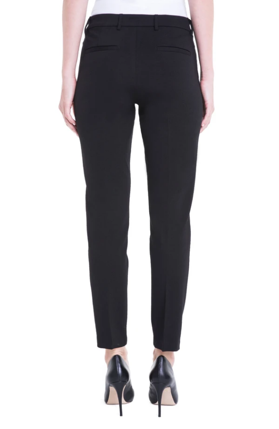 Our classy and comfortable Kelsey Knit Trouser in our Super Stretch Ponte.  Dress these up or down for maximum use.
