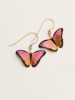 Holly Yashi Bella Butterfly Earrings. Pulsing with energetic color and the most exquisite detail, our design team dared to stretch their imaginations and talents. The result: our breathtaking Bella Butterfly Earrings. Whether you want to transform your look or wear a symbol of change and endurance this stunning pair will take you to the next level.