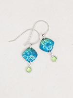 Holly Yashi Square Leaf Earrings - Multiple Color Options
