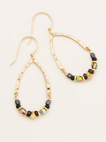 Holly Yashi Ayla Earrings. An eclectic-luxe combination of custom crafted beads offer a chic update in a modern drop hoop. Our Ayla Earrings move seamlessly from day to night with the perfect blend of shimmer and wow!