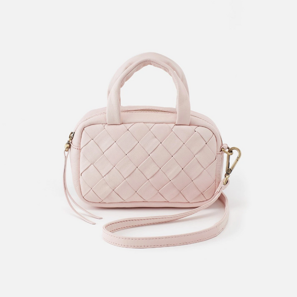 Meet this season's must-have Hobo bag. Maze is soft and woven in a structured shape with top handles and a long crossbody strap so you can carry it your way, every day. Crafted in our new soft hide, a lightweight yet incredibly durable leather tanned with a finish that leaves the leather's beauty untouched.