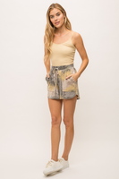 Mystree Tie Dye Terry Shorts