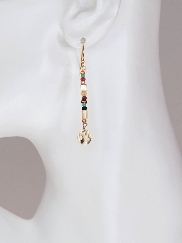 Perfect to wear during the day and perfectly exciting to keep on into the night, our Equinox Stick Earrings make a pointed style statement for the woman with a strong sense of inner beauty.