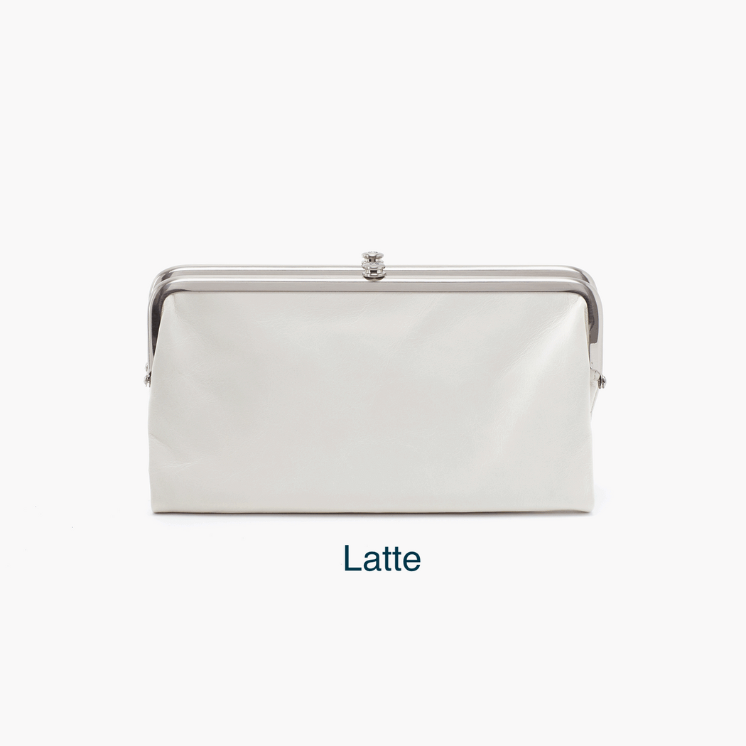 "As seen on InStyle.com as ""the answer to your handbag prayers"", the Lauren wallet & convertible clutch is loved by a million women & counting. Crafted in our signature vintage hide leather that only gets more beautiful over time with use and wear."