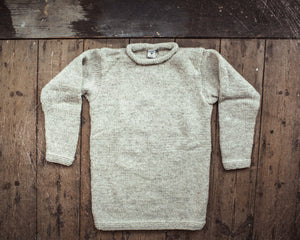 Hand Knitted Workers Jumper
