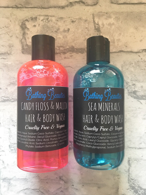 Hair & Body Wash Duo