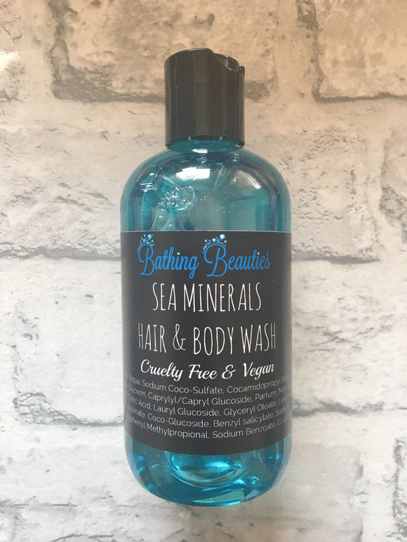 Sea Minerals Hair & Body Wash