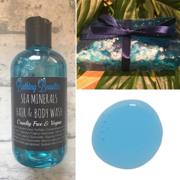 Men's Hair & Body Wash & Soap Duo