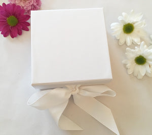 Small White Luxury Gift Box