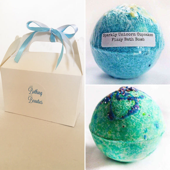 Mermaids & Unicorns Bath Bomb Duo
