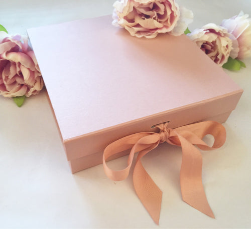 Rose Gold Gift Box