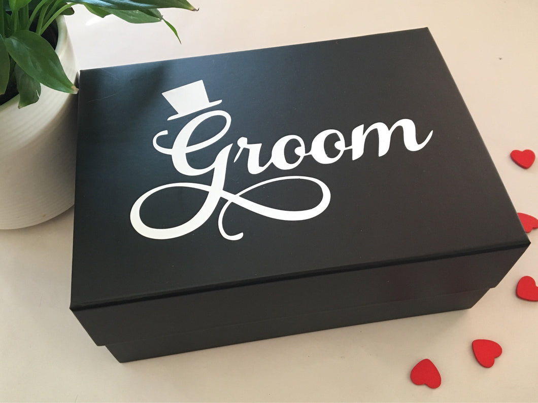 Groom Gift Box