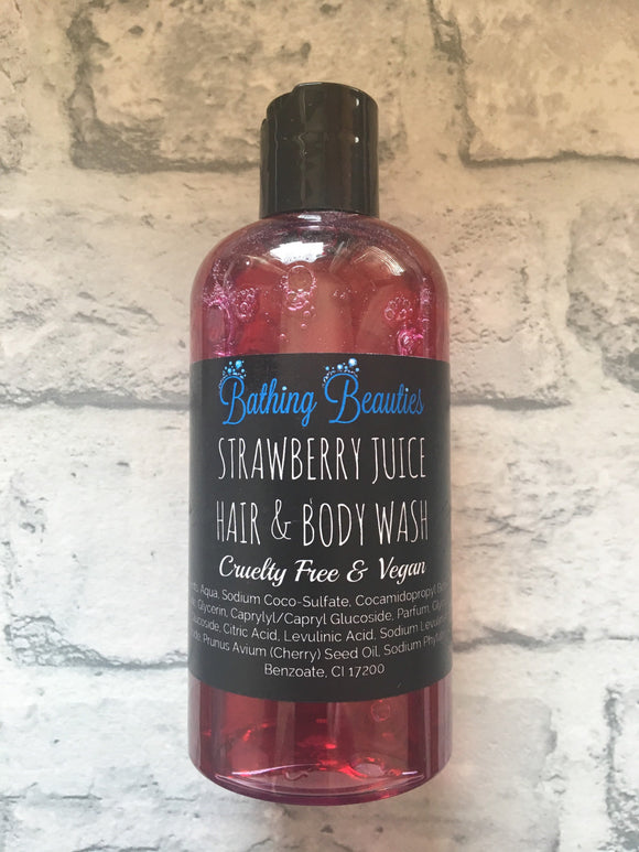Strawberry Juice Hair & Body Wash