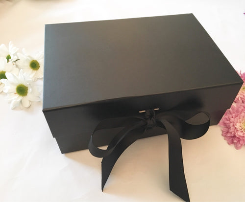 Deep Black Box with Ribbon