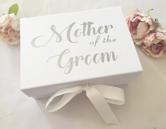 Mother of the Groom Gift Box