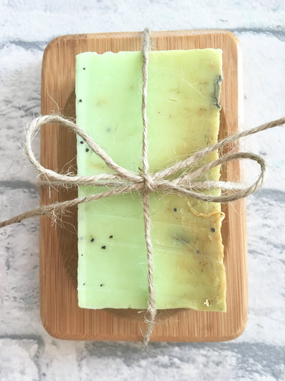Soap & Bamboo Soap Tray Duo