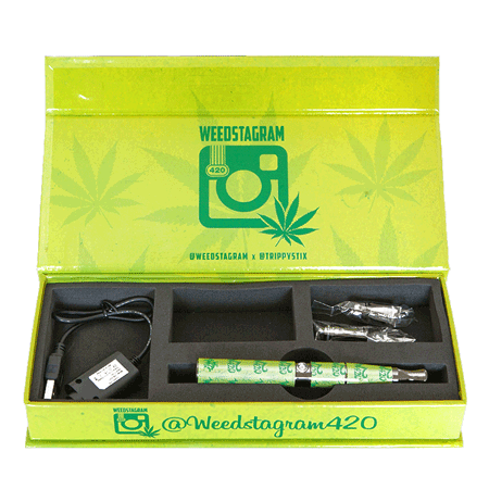 The Trippy Stix® Vaporizer - Weedstagram Edition