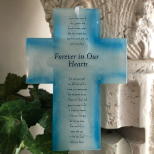 Glass Memorial Cross