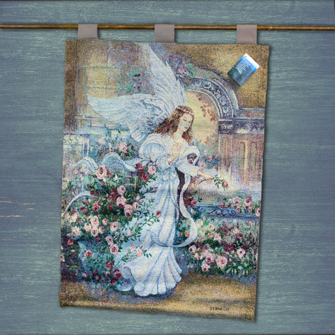 Angel of Love Wall Tapestry
