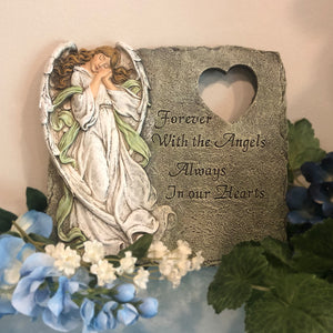 Angel Memorial Stepping Stone