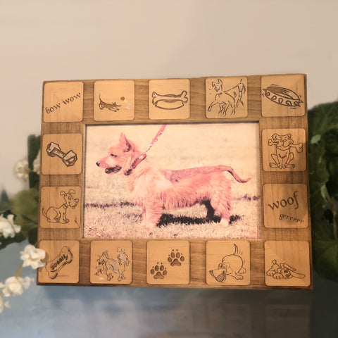Dog Memorial Picture Frame