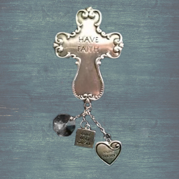 Have Faith Car Charm