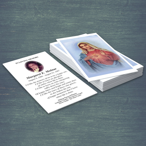 REORDER ONLY-Prayer Cards (Pack of 25)