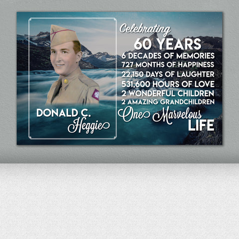 Life Celebration Print - REORDER ONLY